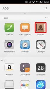 screenshot pannello app_contatti