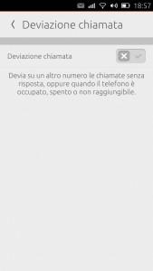 screenshot telefono_impostazione deviazione chiamata