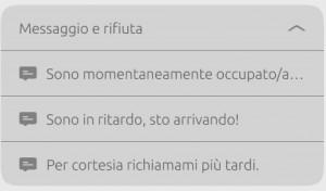 screenshot telefono_ricezione chiamata_rifiuto con sms