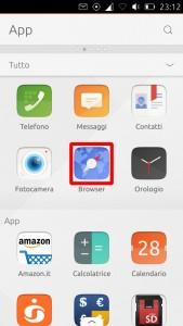 screenshot pannello app_browser